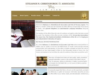 Stylianos N. Christoforou & Associates Law Firm